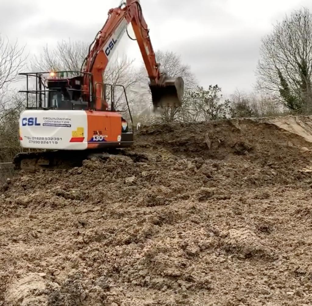 Binfield Excavation